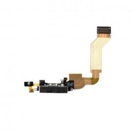 Nappe connecteur dock USB noir iPhone 4S
