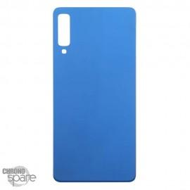 Vitre arrière Bleue Samsung A7 2018 (SM-750F)