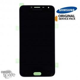 Ecran LCD + Vitre tactile Noire Samsung J4 J400F (officiel)