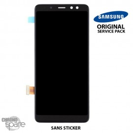Vitre tactile et ecran LCD Samsung Galaxy A8 2018 A530F (Officiel)