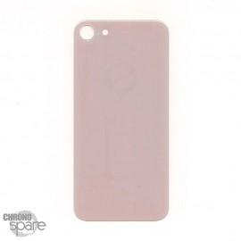 Plaque arrière en verre iPhone 8 or (pour machine laser)
