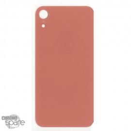 Plaque arrière en verre iPhone XR corail (pour machine laser)