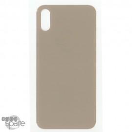 Plaque arrière en verre iPhone XS Max or (pour machine laser)