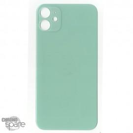 Plaque arrière en verre iPhone 11 vert (pour machine laser)