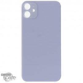 Plaque arrière en verre iPhone 11 mauve (pour machine laser)