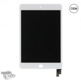 Ecran LCD + Vitre Tactile Blanche iPad Mini 4 OEM