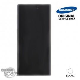 Vitre tactile et écran LCD Samsung Galaxy Note 10 SM-N970 (officiel) Blanc
