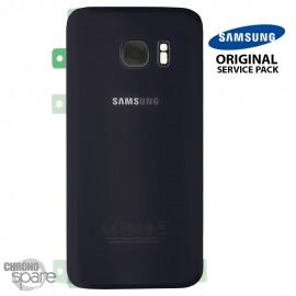 Vitre arrière + vitre caméra Noir (officiel) Samsung Galaxy S7 G930F