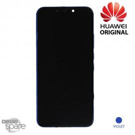 Bloc écran LCD + vitre tactile + batterie Huawei P Smart Plus Noir (officiel)