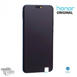 Ecran LCD + Vitre tactile bleue Honor 8X (officiel)