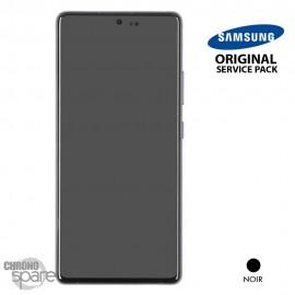 Vitre tactile et écran LCD Samsung Galaxy S10 Lite SM-G770F (officiel) Noir