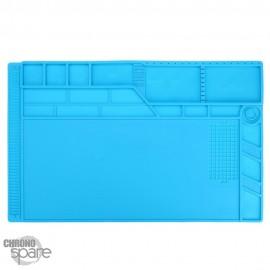 Tapis de travail en silicone antistatique aimanté grand modèle (55 x 35 cm)