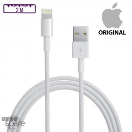 Câble de charge iPhone original - 2M- sans boîte
