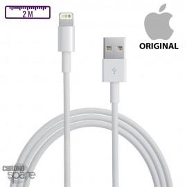 Câble de charge iPhone original - 2M- sans boîte