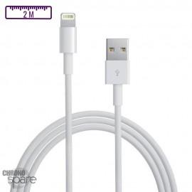 Câble de charge compatible Lightning - Premium 2m BULK