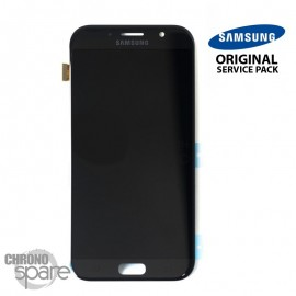 Vitre tactile et ecran LCD Samsung Galaxy A7 2017 A720 (Officiel) Noir
