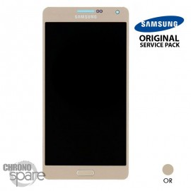 Vitre tactile + écran LCD Samsung Galaxy A700F (officiel) GH97-16922F Or