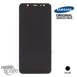 Vitre tactile + Ecran LCD Samsung Galaxy A6 Plus 2018 A605F (officiel) Noir