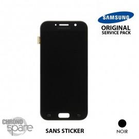 Ecran LCD & Vitre Tactile Noire Samsung Galaxy A5 2017 A520F (Officiel) - GH97-19733A
