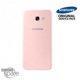 Vitre arrière Rose (officiel) Samsung Galaxy A5 2017 A520F