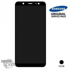 Ecran LCD + Vitre tactile Noire Samsung J8 2018 J810F (officiel)