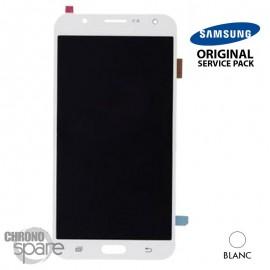 Ecran LCD et Vitre Tactile Blanche Samsung J7 J710F (officiel) GH97-18855C