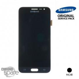 Ecran LCD + Vitre tactile noire Samsung J3 2016 A320F (officiel) GH97-18414C