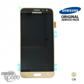 Ecran LCD + Vitre tactile or Samsung J3 2016 A320C (officiel) GH97-18414B