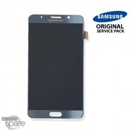 Vitre Tactile + Ecran LCD Argent Samsung Galaxy Note 5 N920F (officiel)