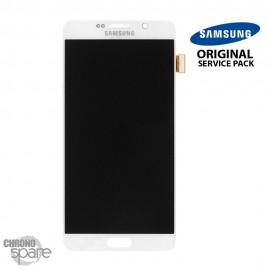 Vitre Tactile + Ecran LCD Blanc Samsung Galaxy Note 5 N920F (officiel)