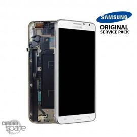 Vitre tactile et écran LCD Galaxy Note 3 N7505 Blanc (Officiel) GH97-15540B