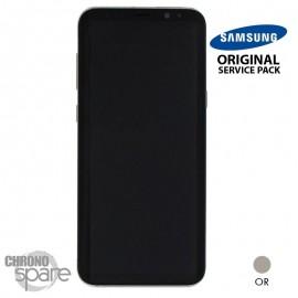 Ecran LCD + Vitre Tactile or Samsung Galaxy S8 Plus G955F (officiel)