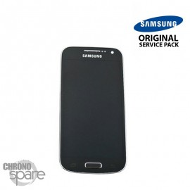 Ecran LCD et Vitre tactile Noire Samsung galaxy S4 Mini Value Edition i9195i (officiel) GH97-16992A