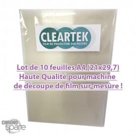 Film de protection CLEARTEK pour machine à découper (lot de 10)