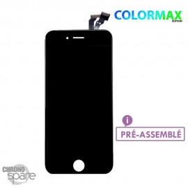 Ecran LCD + vitre tactile iphone 6 noir (colormax)