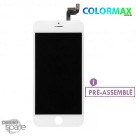 Ecran LCD + vitre tactile iphone 6s plus blanc (colormax)
