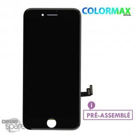 Ecran LCD + vitre tactile iphone 8 plus noir (colormax)