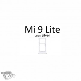 Tiroir SIM double Xiaomi mi9 lite noir