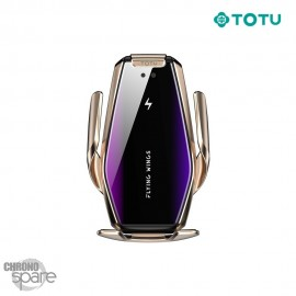 Support avec Chargeur Induction or / bleu-violet fast charging Voiture
