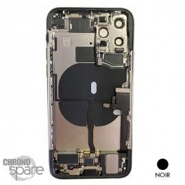 Chassis iPhone 11 pro max noir - avec nappes