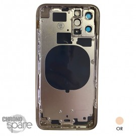 Chassis iPhone 11 pro max or - sans nappes