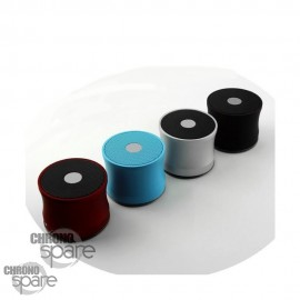 Haut-parleur Bluetooth Aluminium Noir