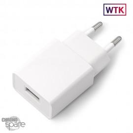 Chargeur secteur Compatible Blanc 5V-2.4A/12W