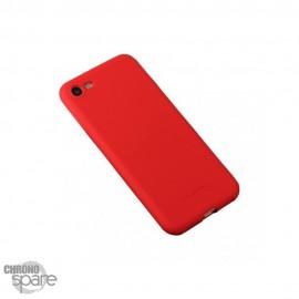 Coque souple Soft touch - Samsung S7 Edge - Rouge