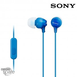 Ecouteurs Jack bleu SONY