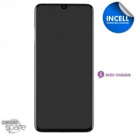 Ecran LCD + Vitre Tactile + châssis noir compatible Samsung Galaxy A70 A705F (INCELL)