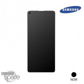 Ecran LCD + Vitre Tactile + châssis noir Samsung Galaxy A21S A217F (officiel)