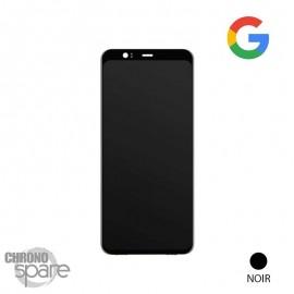 Ecran LCD + Vitre Noir tactile Pixel 4 (officiel)