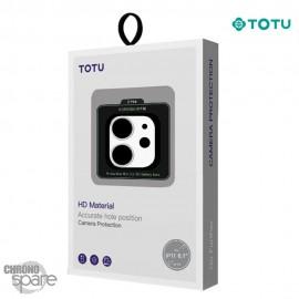 Film de protection pour caméra arrière iPhone 11 Blanc TOTU