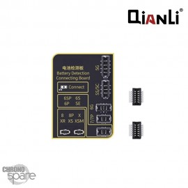 Carte de programmation Qianli pour batterie d'iPhone du 5 au XS MAX